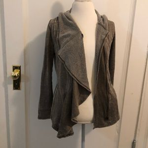 BNCL by blanc noir draped jacket S